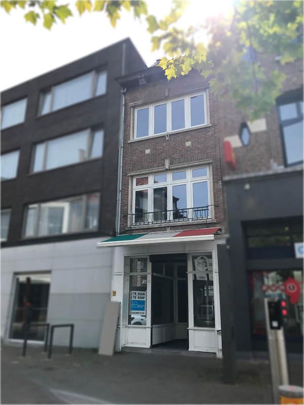 Hertsens: gevel appartement Sint-Niklaas